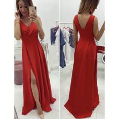 Γυναικείο φόρεμα 9306 κόκκινο