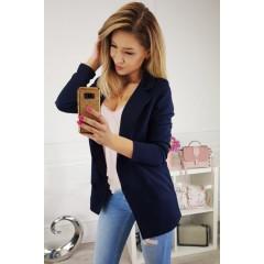 Γυναικείο σακάκι 2692 σκούρο μπλε