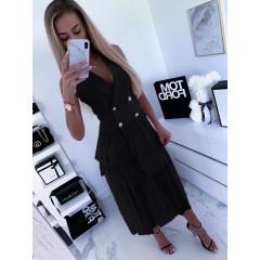 Γυναικείο φόρεμα 3685 μαύρο