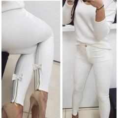 Γυναικείο παντελόνι 151501 άσπρο