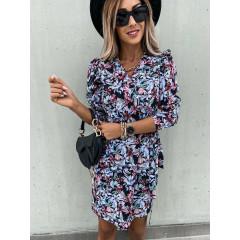 Γυναικείο φόρεμα κρουαζέ 250103