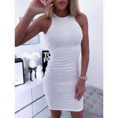 Γυναικείο φόρεμα 2623 άσπρο