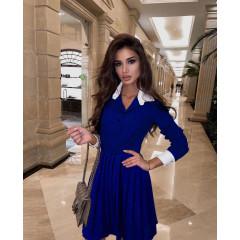 Γυναικείο κλος φόρεμα 54004 μπλε