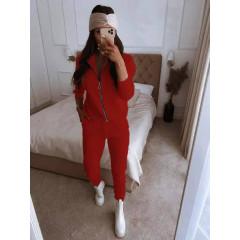 Γυναικείο σετ 19890 κόκκινο