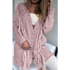Γυναικεία ζακέτα 8221 ροζ