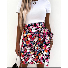 Γυναικεία φούστα με φιόγκο  2123601