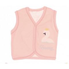 Βρεφικό γυλέκο με κυκνάκι 5050885 ροζ