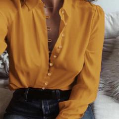 Γυναικείο πουκάμισο 3798 μουσταρδί