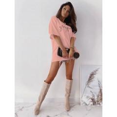 Γυναικείο κοντομάνικο 23133 ροζ
