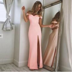 Γυναικείο φόρεμα 6181 ροζ