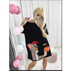 Γυναικείο μπλουζοφόρεμα 232012