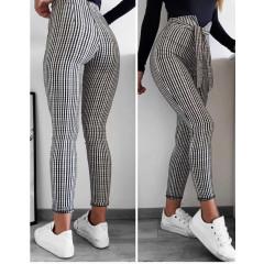 Γυναικείο παντελόνι 161601 πτι καρό
