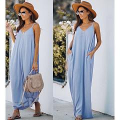 Γυναικείο φόρεμα 3569 γαλάζιο
