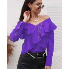 Γυναικεία εντυπωσιακή μπλούζα 3216 μωβ