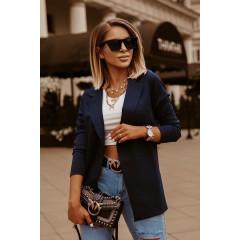 Γυναικείο σακάκι 5018 σκούρο μπλε