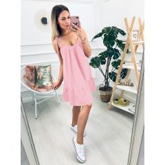 Γυναικείο φόρεμα 3693 ροζ