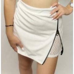Γυναικεία φούστα 5153 άσπρο