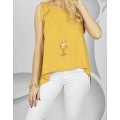 Γυναικείο τοπάκι 3582 κίτρινο