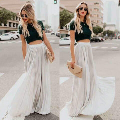 Γυναικεία φούστα 3611 λευκή