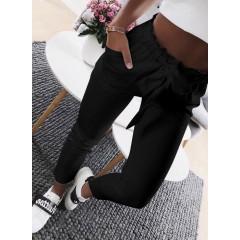 Γυναικείο παντελόνι 18069 μαύρο