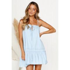 Γυναικείο φόρεμα 3659 γαλάζιο