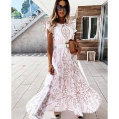 Γυναικείο αέρινο φόρεμα 21296