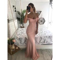 Γυναικείο φόρεμα 9698 ροζ