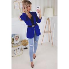 Γυναικείο κομψό σακάκι 3969 μπλε