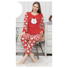 Γυναικεία πιτζάμα φλις PLRSD01
