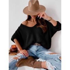 Γυναικείο πουλόβερ 888 μαύρο