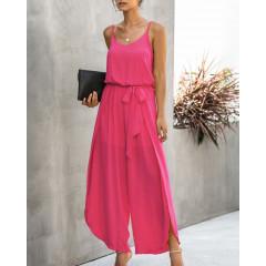 Γυναικεία ολόσωμη φόρμα 5112 φούξια