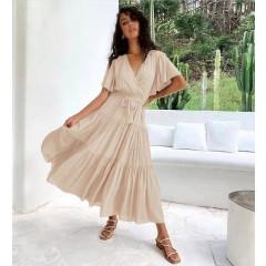 Γυναικείο κλος φόρεμα 5662 μπεζ