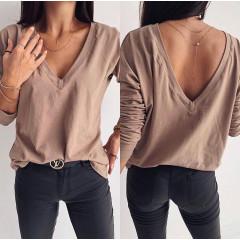 Γυναικεία μπλούζα 3376 καπουτσίνο