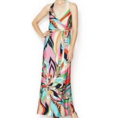 Γυναικείο μακρύ φόρεμα φλοράλ 5175