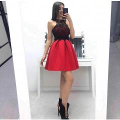Γυναικείο φόρεμα 22600 κόκκινο