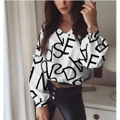 Γυναικεία μπλούζα με print 395703
