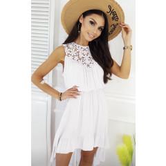 Γυναικείο φόρεμα 3683 λευκό