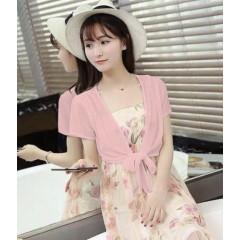 Γυναικείο μπολερό 5195 ροζ