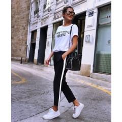 Γυναικείο παντελόνι 6556 μαύρο