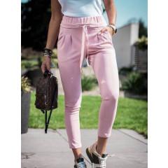 Γυναικείο παντελόνι 9492 ροζ