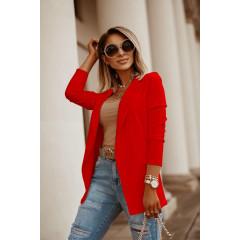 Γυναικείο σακάκι 5018 κόκκινο