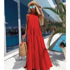 Γυναικείο φόρεμα 3068 κόκκινο