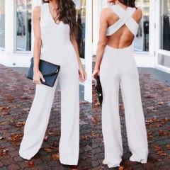 Γυναικεία ολόσωμη φόρμα 3674 λευκό