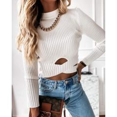Γυναικεία εντυπωσιακή μπλούζα 2499 άσπρη