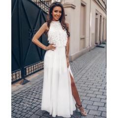 Γυναικείο φόρεμα 2765 λευκό