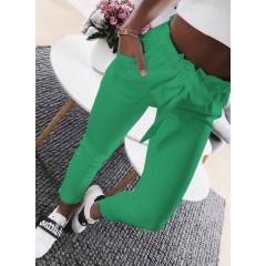 Γυναικείο παντελόνι 18069 πράσινο