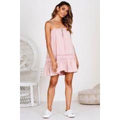 Γυναικείο φόρεμα 3659 ροζ