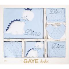 Βρεφικό σετ για νεογέννητο 10τμχ. 505672 μπλε