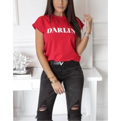 Γυναικείο κοντομάνικο μπλουζάκι  3246
