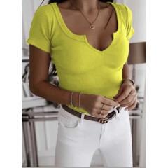 Γυναικεία μπλούζα 3629 κίτρινη